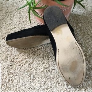 J. Crew Shoes - Black suede J crew loafers